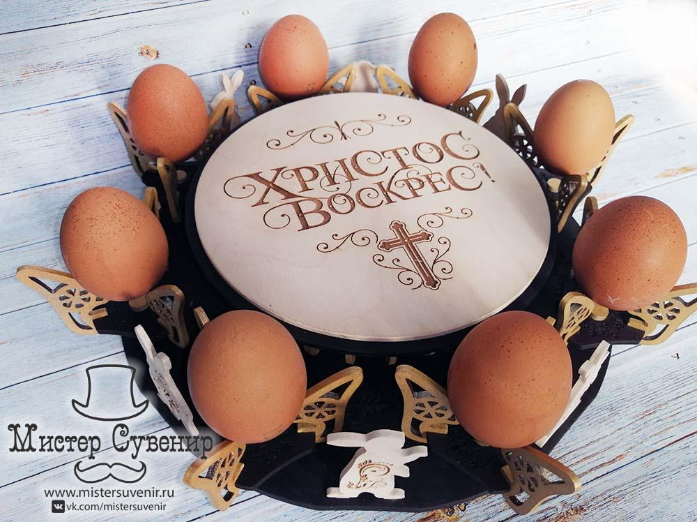 Яйца на пасхальное блюде