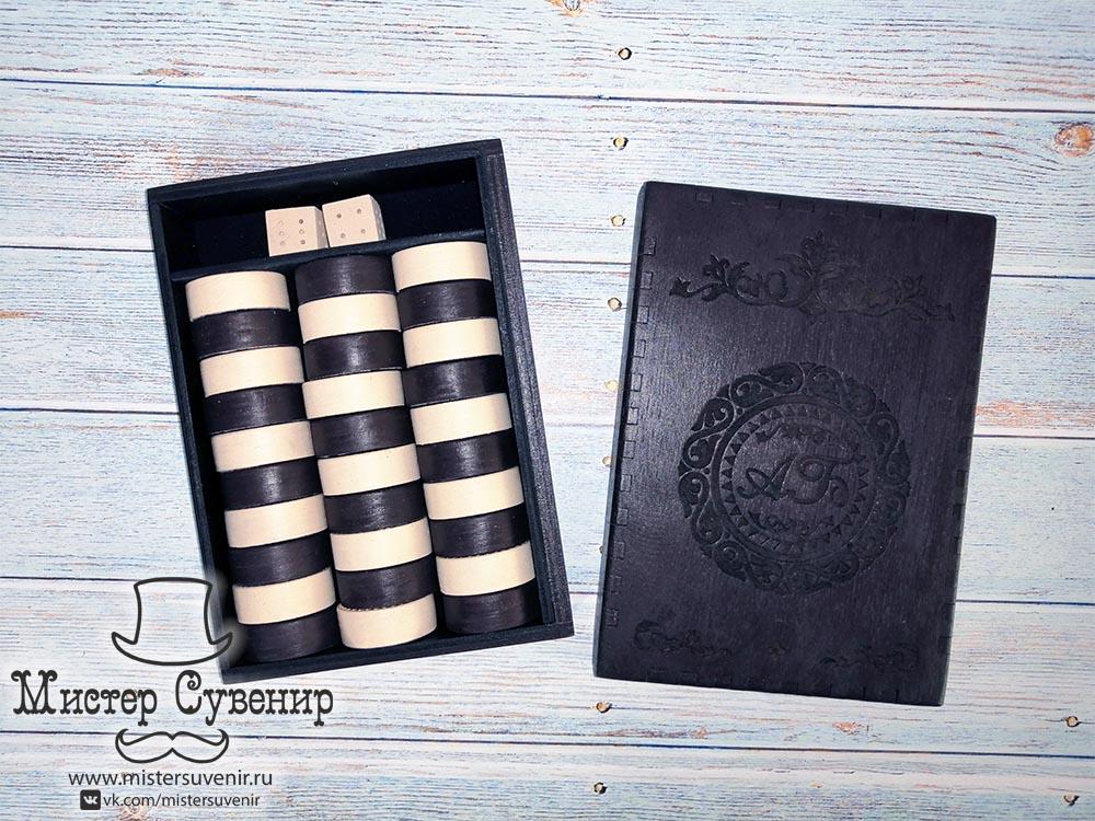 Комплект шашек для нард