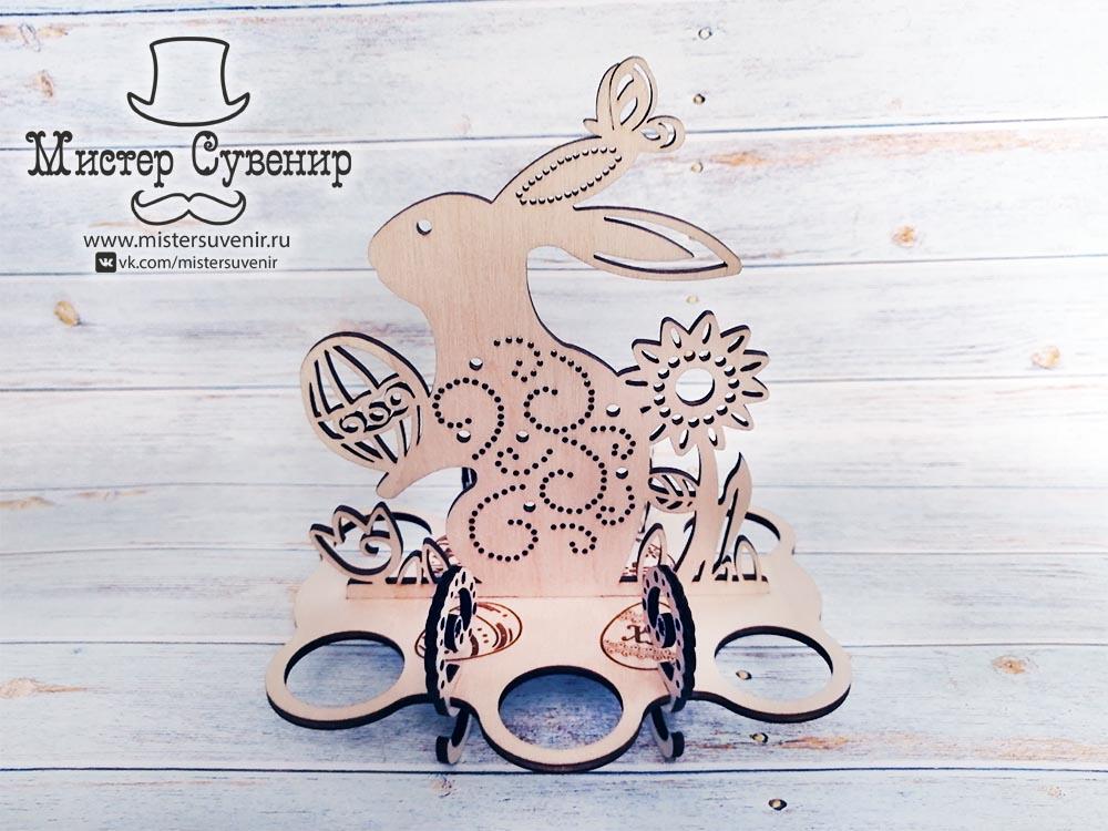 Пасхальный кролик-подставка