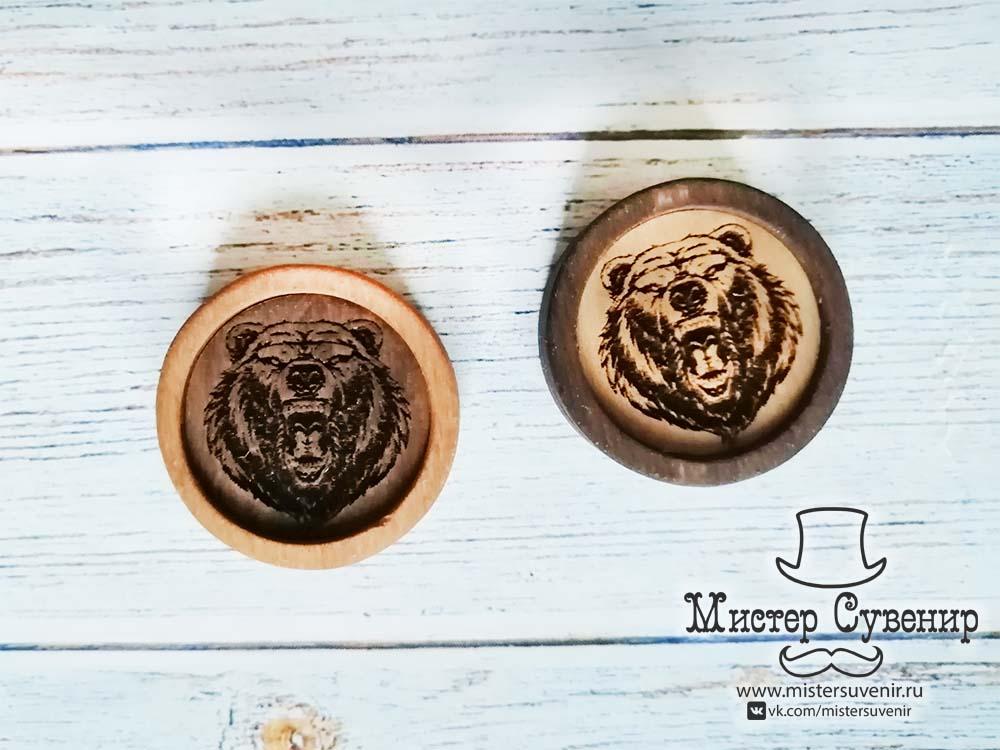 Фишки для нард с медведями