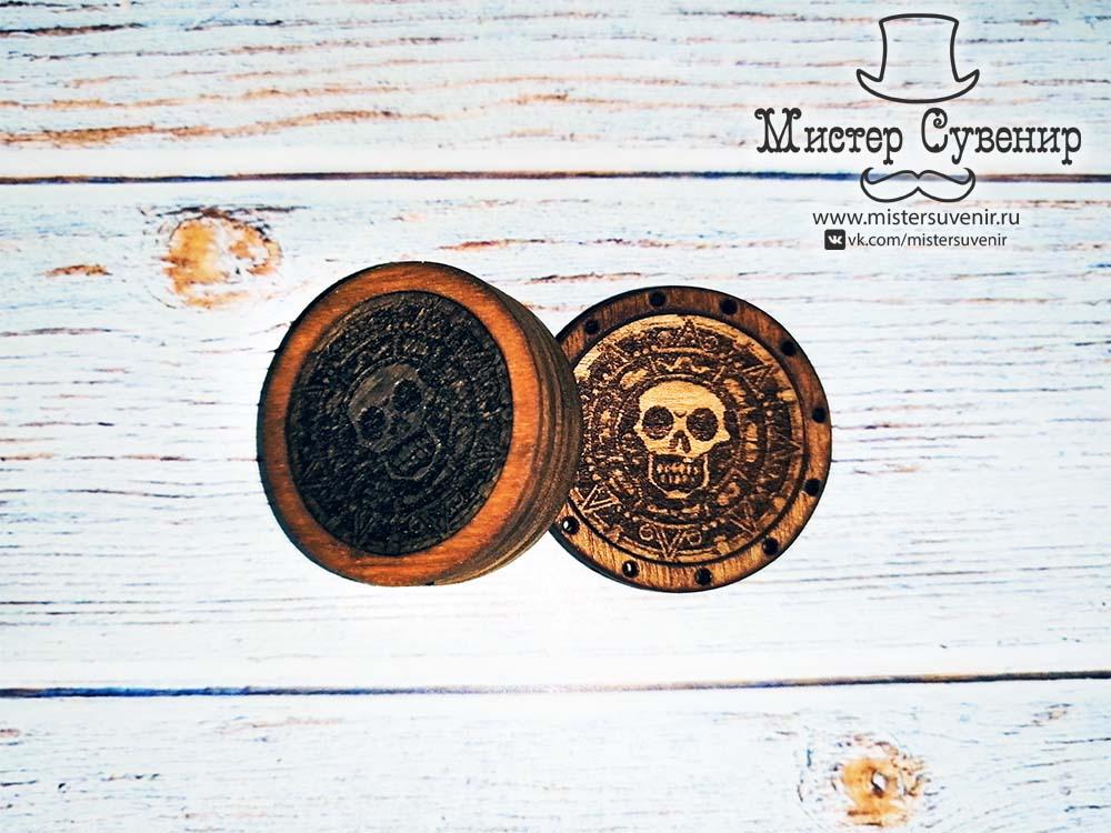 Нарды пиратские монеты