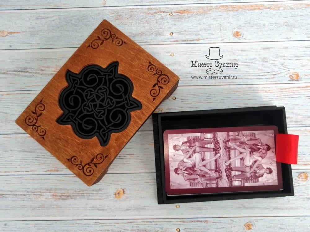 Шкатулка с колодой карт Таро