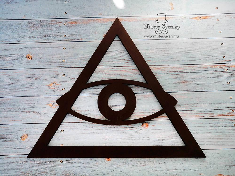 Глаз в треугольной рамке