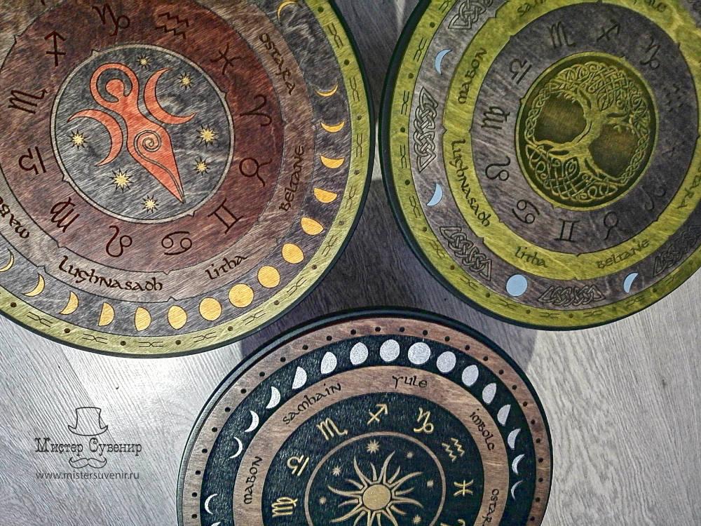 Ассортимент столиков колесо года
