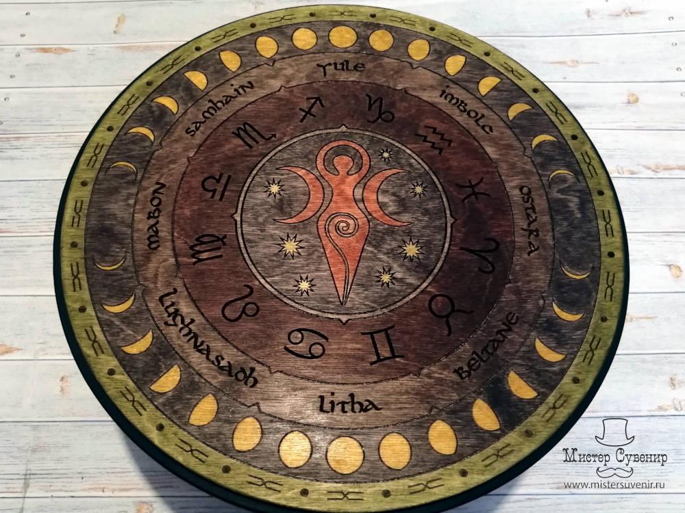 Триединая богиня алтарь
