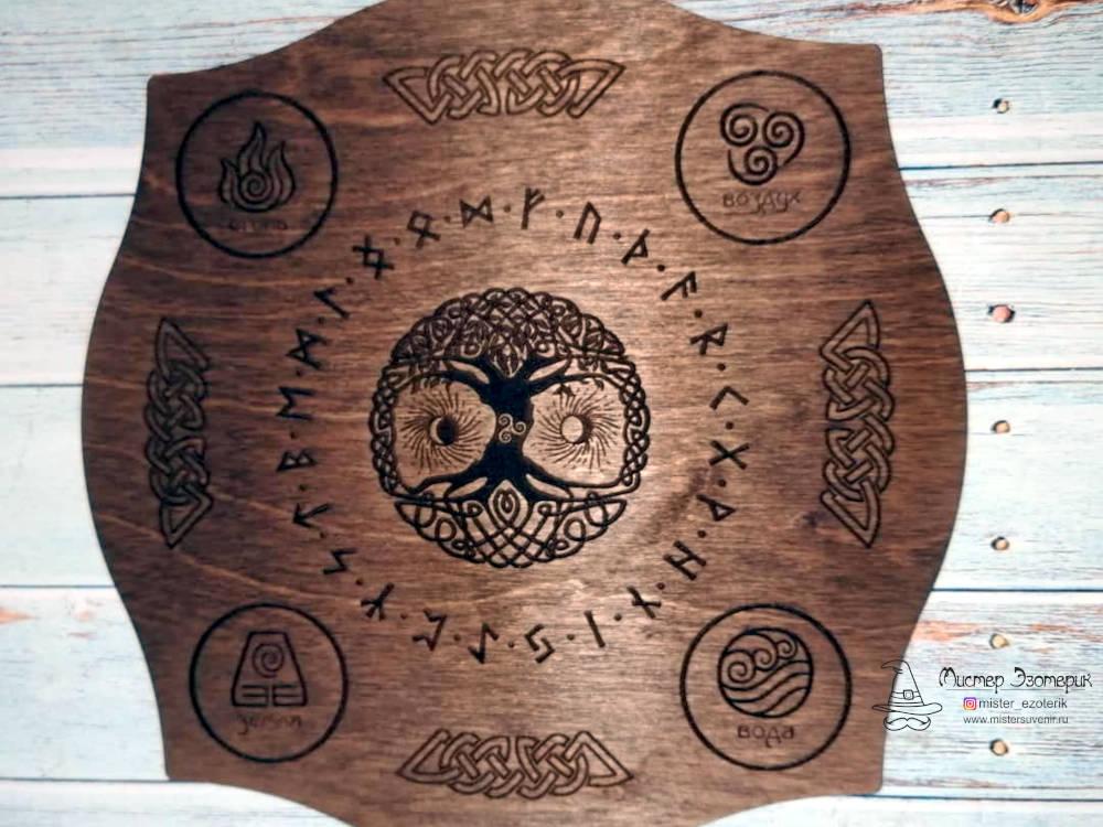 Алтарь Иггдрасиль из дерева