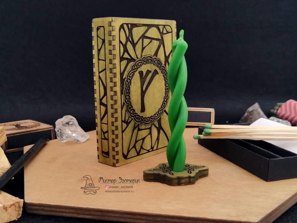 Сувенирная денежная свеча в коробке