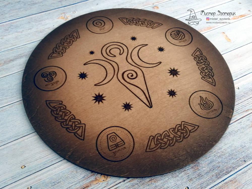 Покраска алтаря ручной работы с пятью стихиями